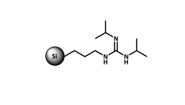 SiliaBond Guanidine is a silica-supported diisopropylguanidine ligand.