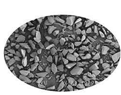 SEM of Competitor Silica Gels