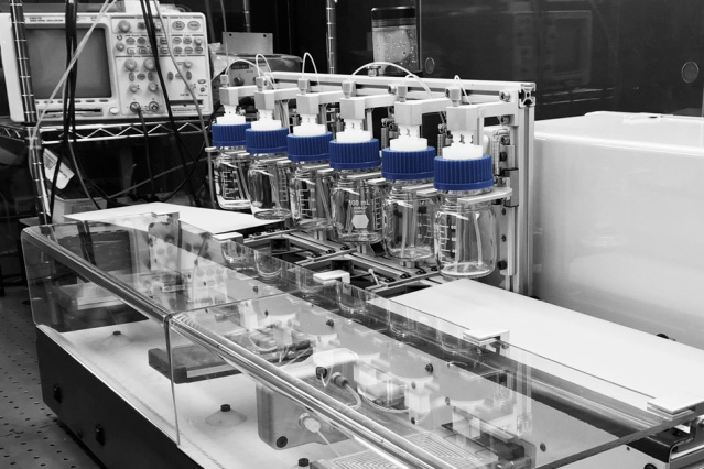 New automated chemical synthesis system