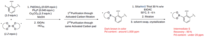E-PAK case study: Borylation reaction