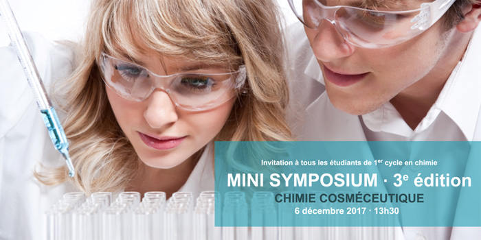 Rencontrez SiliCycle au 3e Mini-Symposium de Chimie Cosméceutique, à l'Université Laval