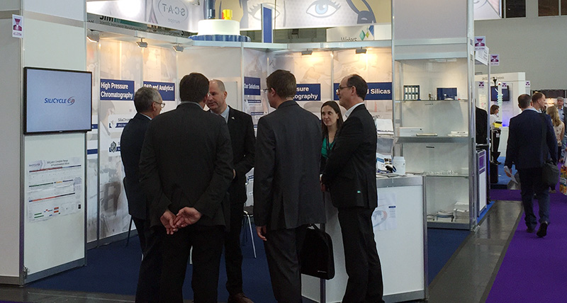 Analytica 2016 - SiliCycle booth