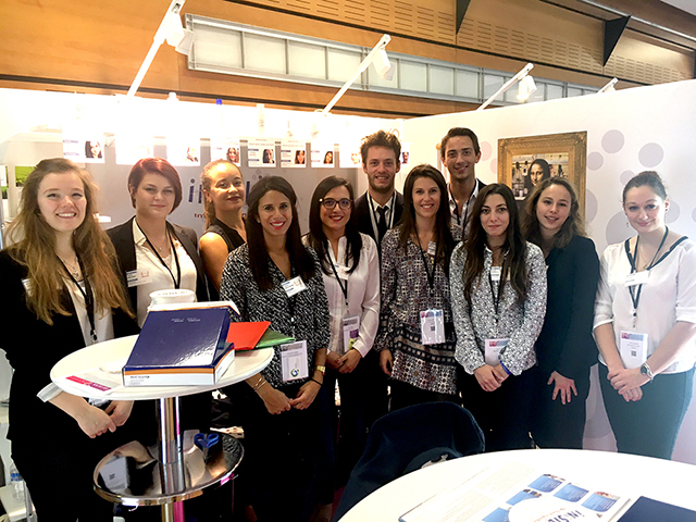 Les semi finalistes du Défi Cosmétique in silica, lors du salon Cosmetic360 à Paris