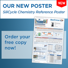 SiliCycle Chemistry Reference Poster