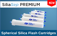 SiliaSep PREMIUM - Flash Cartridges packed with Spherical Silica