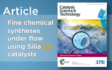 Fine Chemical Syntheses Under Flow Using SiliaCat Catalysts