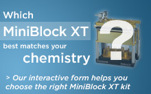 Choose the right SiliCycle MiniBlock for your chemistry