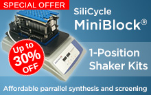 SiliCycle MiniBlock 1-Position Shaker Kits