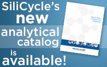 New Silicycle Analytical Chemistry Catalog
