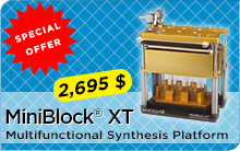Silicycle MiniBlock® XT multifunctional synthesis platform