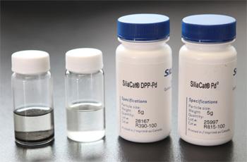 SiliaCat DPP-Pd & Pd(0) Catalizadores Heterogéneos