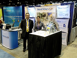 SiliCycle booth at Pittcon