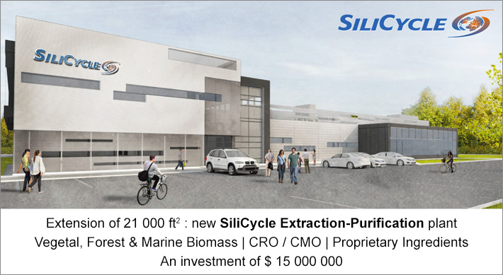 Expansion of SiliCycle: a $ 15 million investment for its