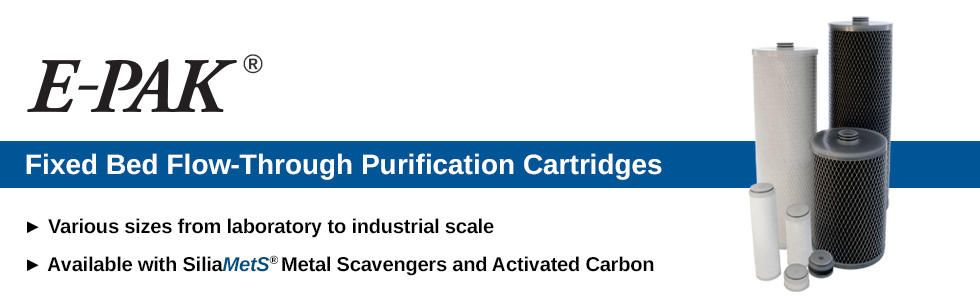E-PAK Cartridges for Large Scale Purification