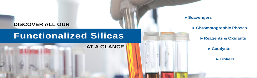 SiliCycle's Complete Range of Functionalized Silicas