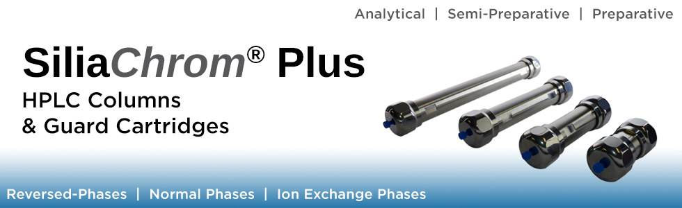 SiliaChrom Plus HPLC Columns & Guard Cartridges