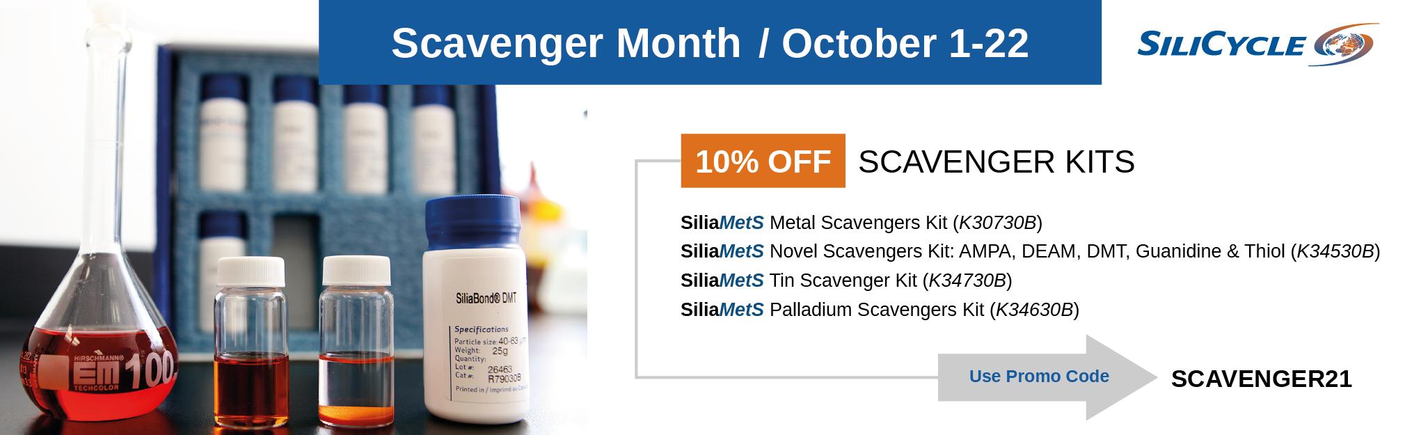 Scavenger Month - October 2021