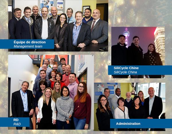 Hugo St-Laurent et toute l'équipe de SiliCycle vous souhaitent de bonnes fêtes! // Hugo St-Laurent and the whole SiliCycle team wish you Happy Holidays!