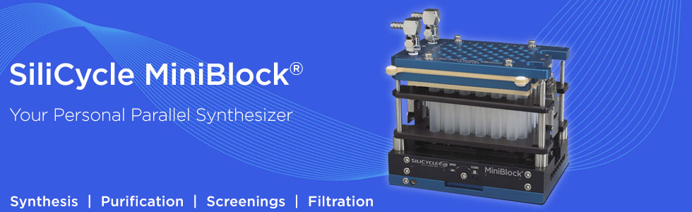 SiliCycle MiniBlock: multifunctional platform for synthesis and purification